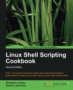 Linux Shell Scripting Cookbook,  2/e(Paperback)-cover