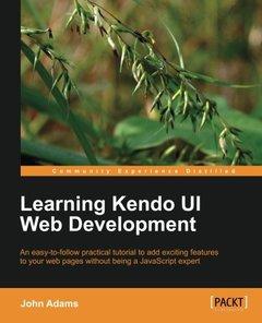 Learning Kendo UI Web Development-cover