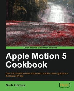 Apple Motion 5 Cookbook-cover