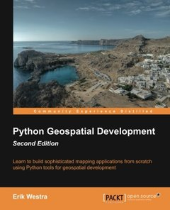 Python Geospatial Development,  2/e(Paperback)-cover