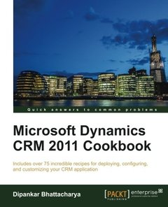 Microsoft Dynamics CRM 2011 Cookbook-cover