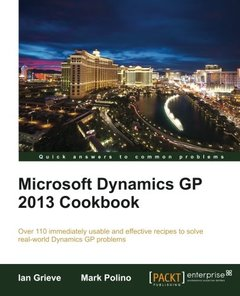 Microsoft Dynamics GP 2013 Cookbook-cover