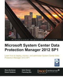 Microsoft System Center Data Protection Manager 2012 SP1-cover