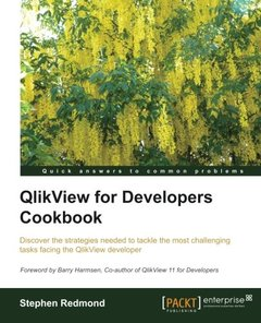 QlikView for Developers Cookbook-cover