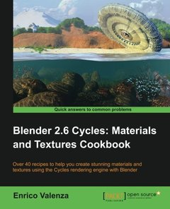 Blender 2.6 Cycles:Materials and Textures Cookbook-cover