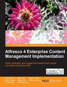 Alfresco 4 Enterprise Content Management Implementation-cover