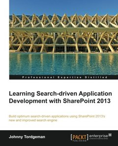 Learning Search-driven Application Development with SharePoint 2013-cover