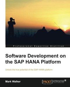 Software Development on the SAP HANA Platform-cover