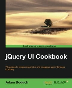 jQuery UI Cookbook-cover