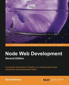Node Web Development, 2/e (Paperback)-cover