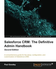 Salesforce CRM: The Definitive Admin Handbook,  2/e(Paperback)-cover