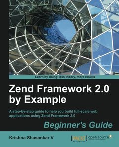 Zend Framework 2.0 by Example: Beginner's Guide-cover