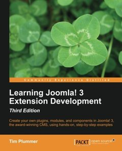 Learning Joomla! 3 Extension Development, 3/e(Paperback)-cover