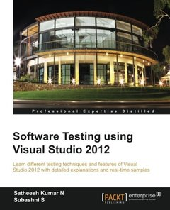 Software Testing using Visual Studio 2012-cover
