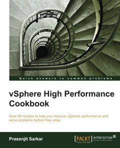 vSphere High Performance Cookbook-cover
