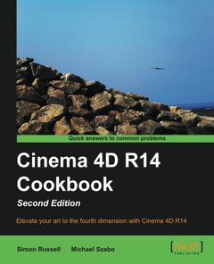 Cinema 4D R14 Cookbook,  2/e(Paperback)-cover