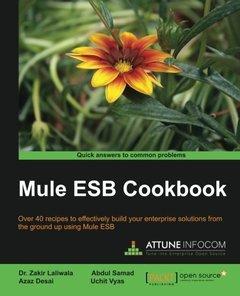 Mule ESB Cookbook-cover
