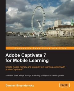 Adobe Captivate 7 for Mobile Learning-cover