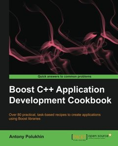 Boost C++ Application Development Cookbook-cover