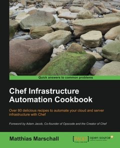Chef Infrastructure Automation Cookbook-cover