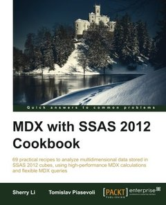 MDX with SSAS 2012 Cookbook-cover