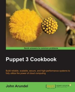 Puppet 3 Cookbook-cover