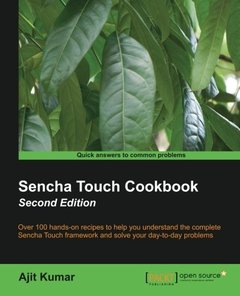 Sencha Touch Cookbook,  2/e(Paperback)-cover