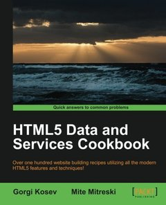 HTML5 Data and Services Cookbook-cover