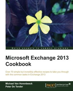 Microsoft Exchange 2013 Cookbook-cover