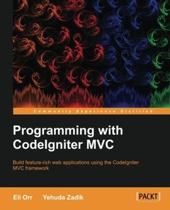 Programming with CodeIgniterMVC (Paperback)-cover