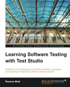Learning Software Testing with Test Studio-cover