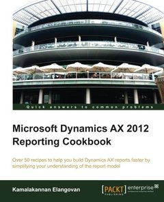 Microsoft Dynamics AX 2012 Reporting Cookbook-cover