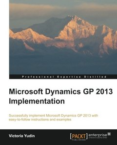 Microsoft Dynamics GP 2013 Implementation-cover