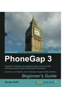 PhoneGap 3, Beginner's Guide,  2/e(Paperback)-cover