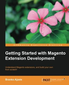 Getting Started with Magento Extension Development-cover