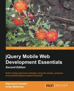 jQuery Mobile Web Development Essentials,  2/e(Paperback)-cover