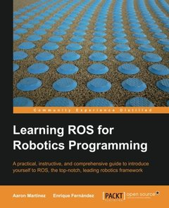 Learning ROS for Robotics Programming (Paperback)-cover