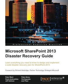 Microsoft SharePoint 2013 Disaster Recovery Guide-cover