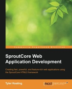 SproutCore Web Application Development-cover