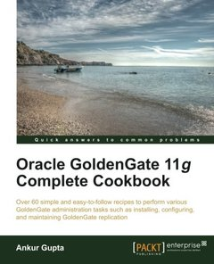 Oracle Goldengate 11g Complete Cookbook-cover
