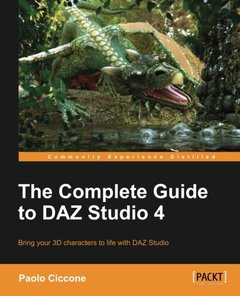 The Complete Guide to DAZ Studio 4-cover