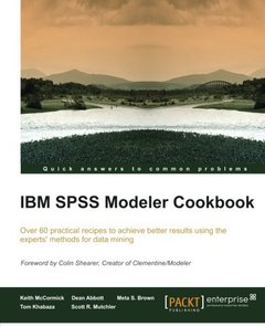 IBM SPSS Modeler Cookbook-cover