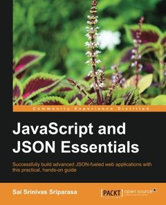 JavaScript and JSON Essentials-cover