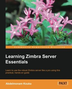 Learning Zimbra Server Essentials (Paperback)-cover