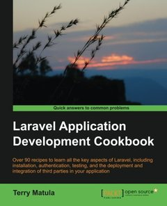 Laravel Application Development Cookbook-cover