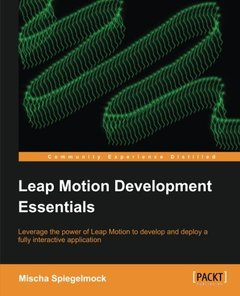 Leap Motion Development Essentials-cover