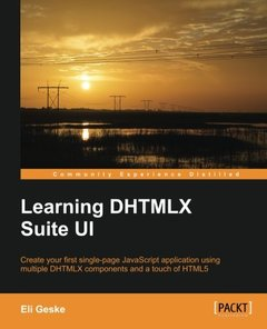 Learning DHTMLX Suite UI-cover