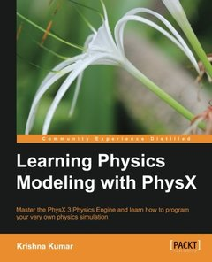 Learning Physics Modeling with PhysX-cover