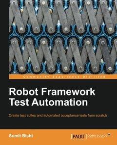 Robot Framework Test Automation (Paperback)-cover