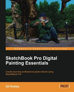 Sketchbook Pro Digital Painting Essentials (Paperback)-cover